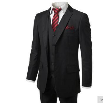 Men's suits Top sales man suit custom  men's suits a three-piece jacket pants vest men's suit