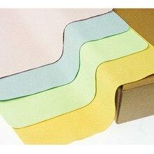 Новинка 5 шт. высокое качество красочные линзы ткань для очистки микрофибры одежда очки камера телефон компьютер экран ткань для очистки F0156