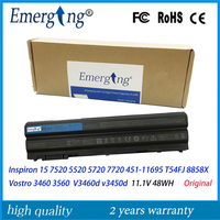 48WH Original New Laptop Battery For Dell Inspiron 15 7520 5520 5720 7720 451 11695 T54FJ