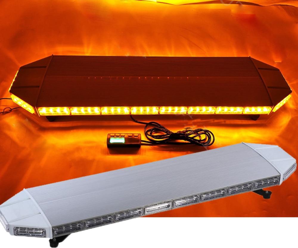castaleca 88LED желтого света бар аварийного Маяка предупредить ответ грузовик Строб сигнальная лампа другие цветы также можно подгонять