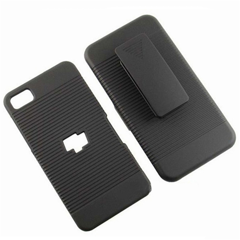 Hot Sale Black Belt Clip Swivel Kickstand Holster Case Cover for Black berry Z10 Unti slip Case Cell Phone Cases SJK040O
