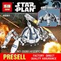 Nueva LEPIN 05081 4123 Unids Serie Star AT-AT el Robot Eléctrico Remoto Móvil cañón de juguete Bloques de Construcción juguetes de los Ladrillos