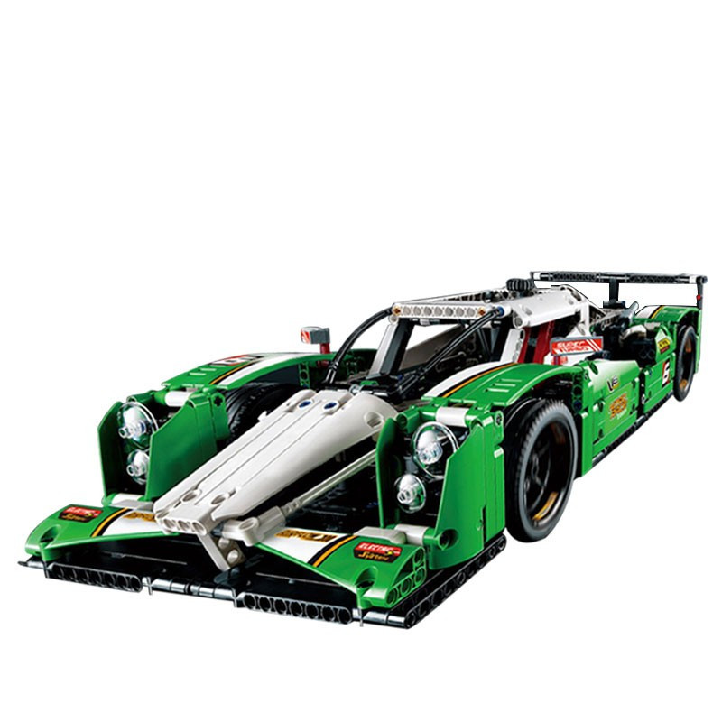 LEPIN Technic City Series 24 Hours Race Car Building Blocks Bricks Model Kids Figures Toys Compatible Legoing enlighten 1712 city swat series military fighter policeman figures building blocks bricks compatible with lepin kids toys