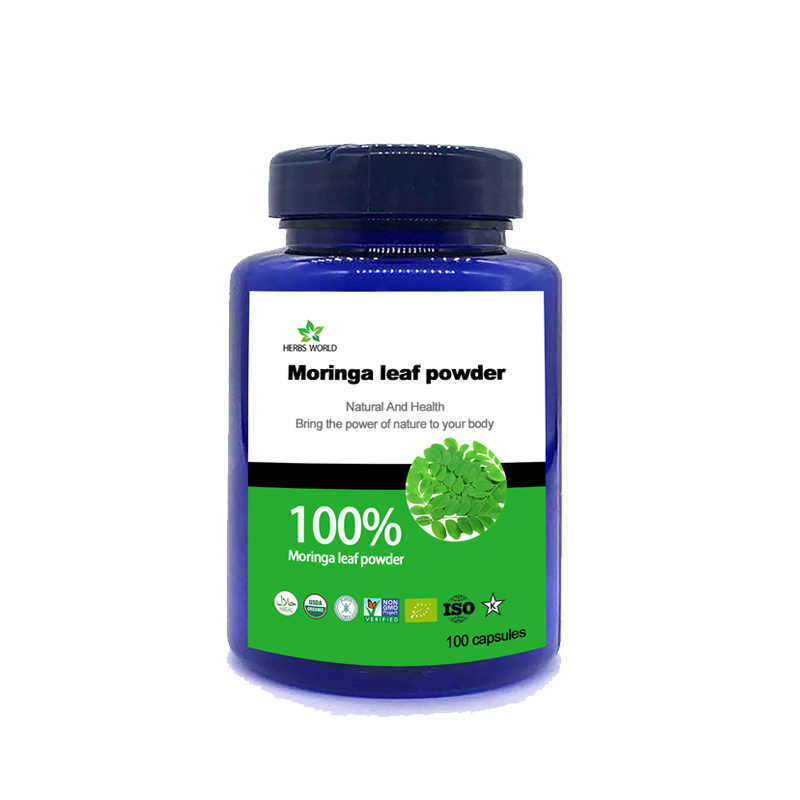 100g 1000g Natural Moringa Leaves Extract Powder,For