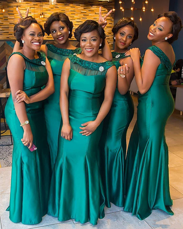 South African 2019   Bridesmaid     Dresses   For Women Mermaid Off The Shoulder Long Cheap Under 50 Wedding Party   Dresses