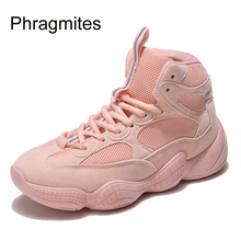 Buy Phragmites Ins Super Hot Women Casual Shoes Hip-hop Soft Dance Shoes Sexy Pink Tenis Masculino Adulto Ankle Short Grils Boots directly from merchant!