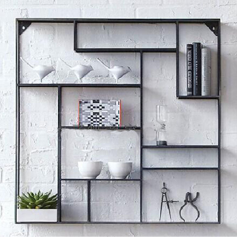 Creative Iron Wall Show Display Rack Factory Direct Living Room Furniture Kitchen Cabinets Wall