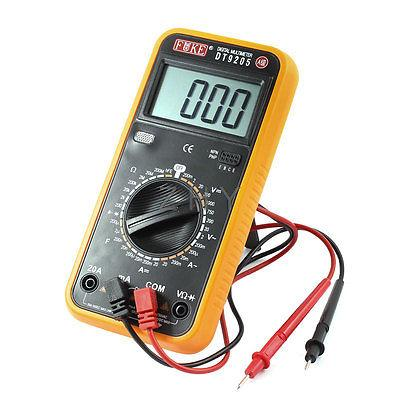 digital multimeter dt9205a how to use