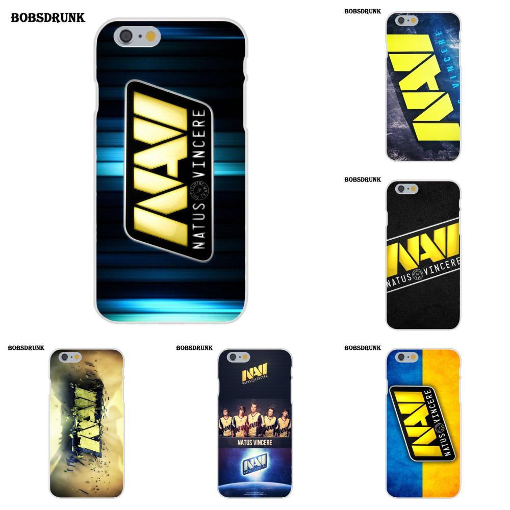 EJGROUP Pop Navi Natus Vincere <font><b>Logo</b></font> Aufkleber Für <font><b>iPhone</b></font> 4 4 s 5 5C SE 6 6 s 7 8 plus X TPU Handy Fall image