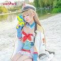 Minami Kotori Cosplay Love Live! Lovelive School Idol Project  Navy Marine Awakening Idolized Version Costume