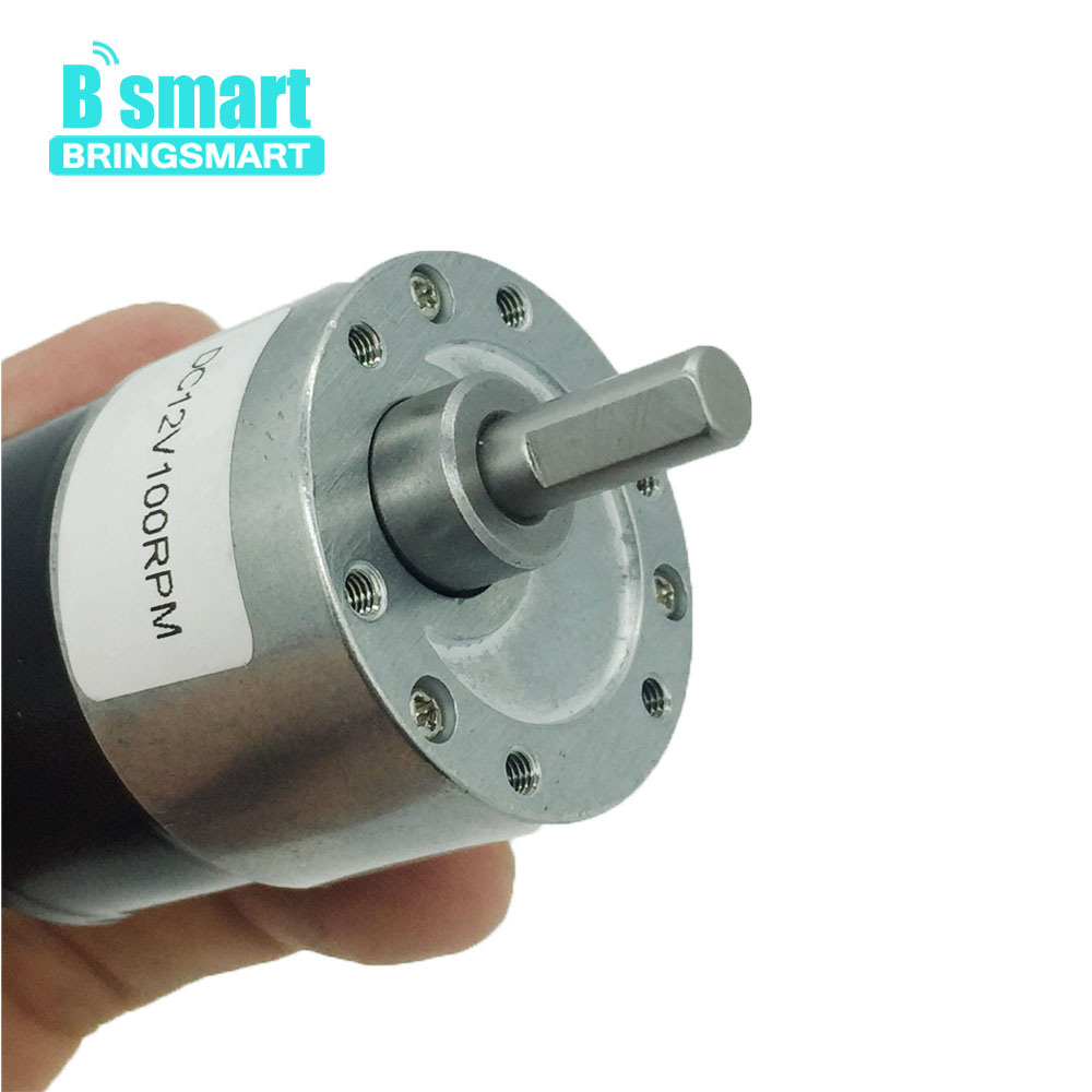 Bringsmart Micro Motor JGB37-3625 DC 12v Rotate Speed Reducer Machine 4-480rpm Coreless Brushless Electric Geared Motor 24vBringsmart Micro Motor JGB37-3625 DC 12v Rotate Speed Reducer Machine 4-480rpm Coreless Brushless Electric Geared Motor 24v