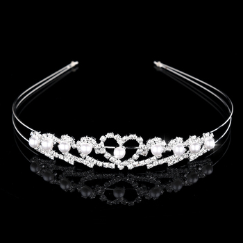 Beautiful Princess Tiaras and Crowns Headband Kid Girls Lover Bridal Prom Crown Wedding Party Accessiories Hair Jewelry