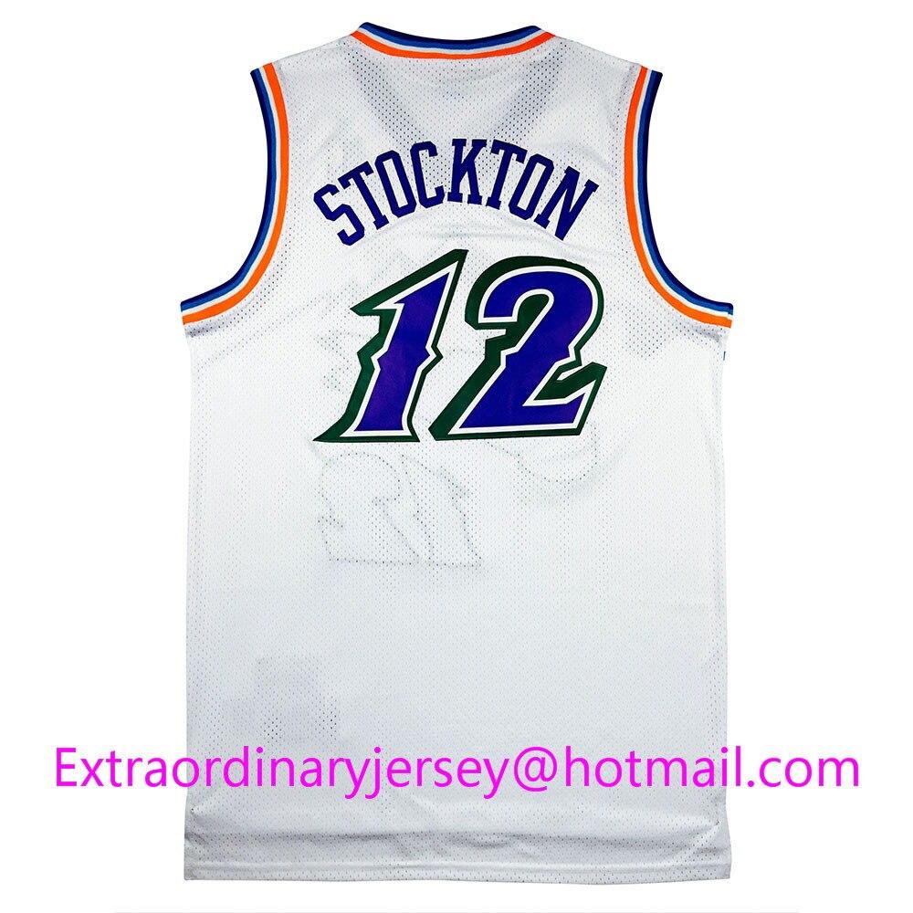 timeless design d09ef 473a2 12 john stockton jersey group