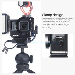 Image 3 - Ulanzi V3 金属 Vlog ケージ移動プロ 7 6 5 ユニバーサル 52 ミリメートルフィルタービデオ Vlog ケージのためのマイク /LED ビデオライト