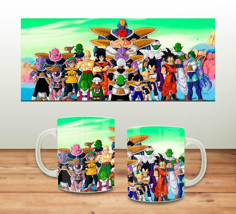 Кружка Tasse Manga Dragon Ball керамическая кофейная кружка чайная чашка для молока
