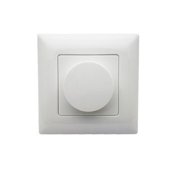 New led Dimmer 220V KS LED Wall Mount Manual Knob Panel Triac 110V-240V dimming for Lamp Dimmable Switch