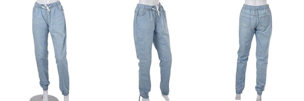 18 New Autumn Pencil Pants Vintage High Waist Jeans New Womens Pants Full Length Pants Loose Cowboy Pants Plus Size 5XL 6XL 11
