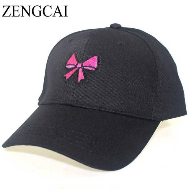 trendy baseball hats black cap trend sports caps cotton women cartoon cute candy ice cream embroidery hat men adjustable
