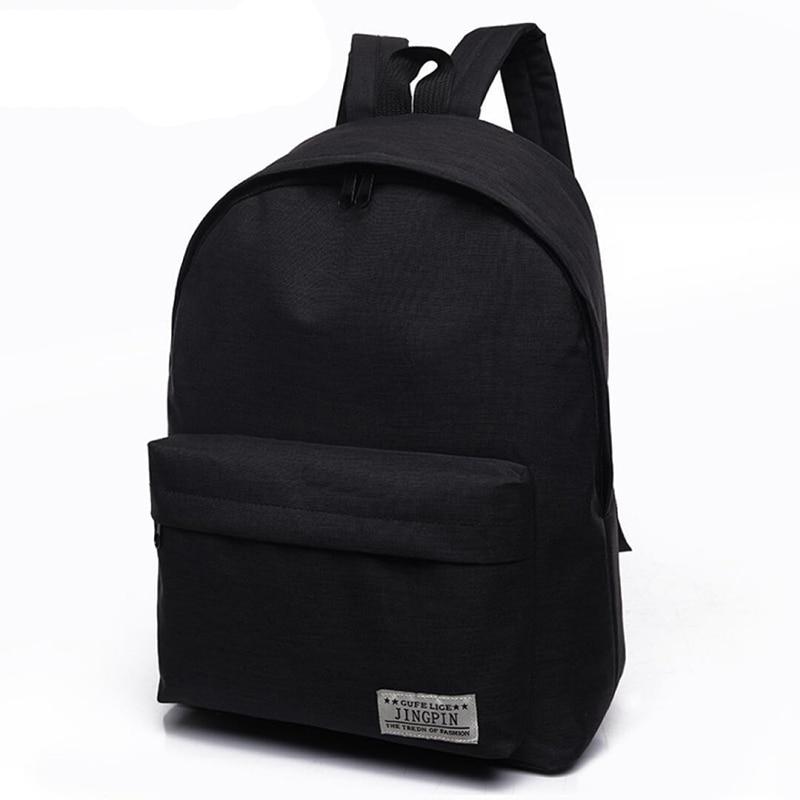 Daypack, Capacity, Men, Modern, Black, Rucksack
