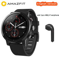 English Version Xiaomi Huami Amazfit Stratos Pace 2 Smart Watch With Professional Waterproof Sports Watch GPS