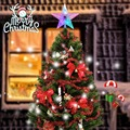 1 Piece Christmas Treetop Star Light Multi-Colored LED Lighting Xmas Decoration For Christmas Tree Battery Powered 8.7 inch