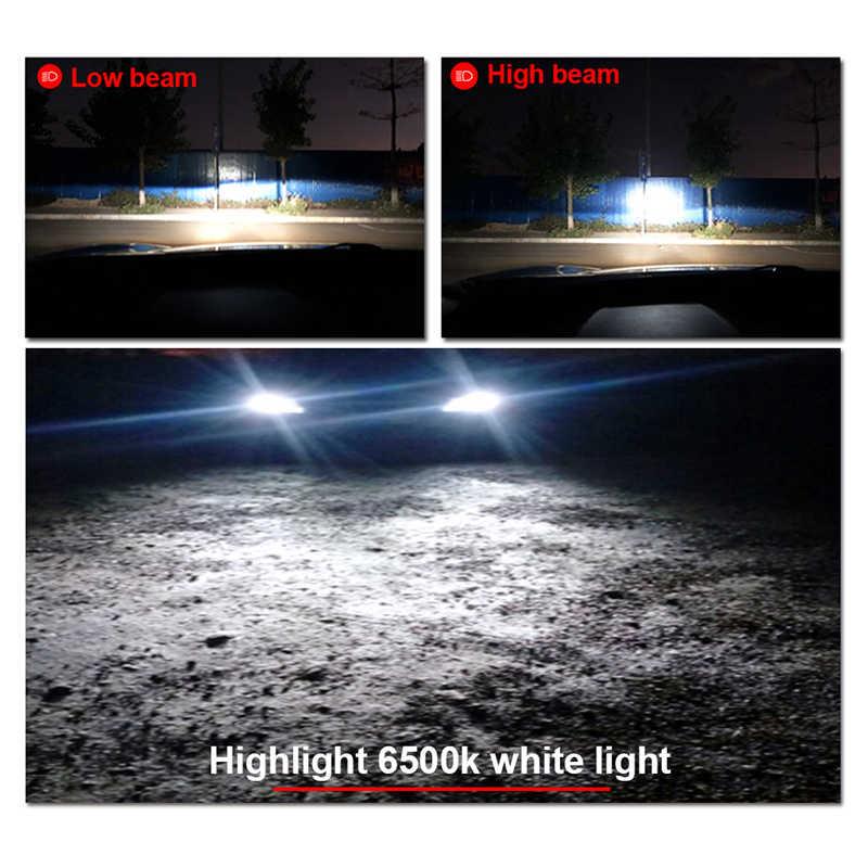 HLXG 2X H7 LED H4 H1 H3 5000K 6500K 8500K H11 Fog Lamp 9005 HB3 9006 HB4 LED Headlight 10000LM Mini car LED Light Source Bulb