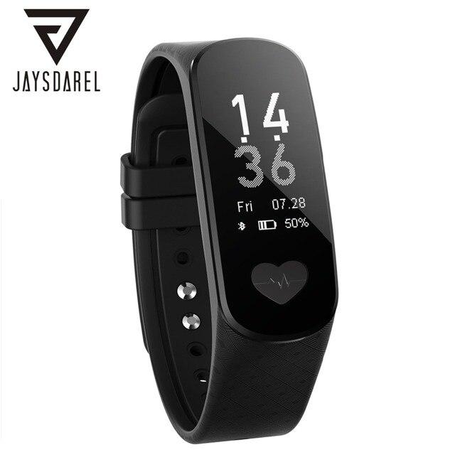 JAYSDAREL B9 ECG+PPG Heart Rate Blood Health Monitor Smart Watch Waterproof IP67