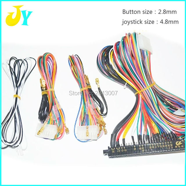 US $18.5 |LCD Jamma Harness 28 pin with 6,8 ons wires for arcade game on