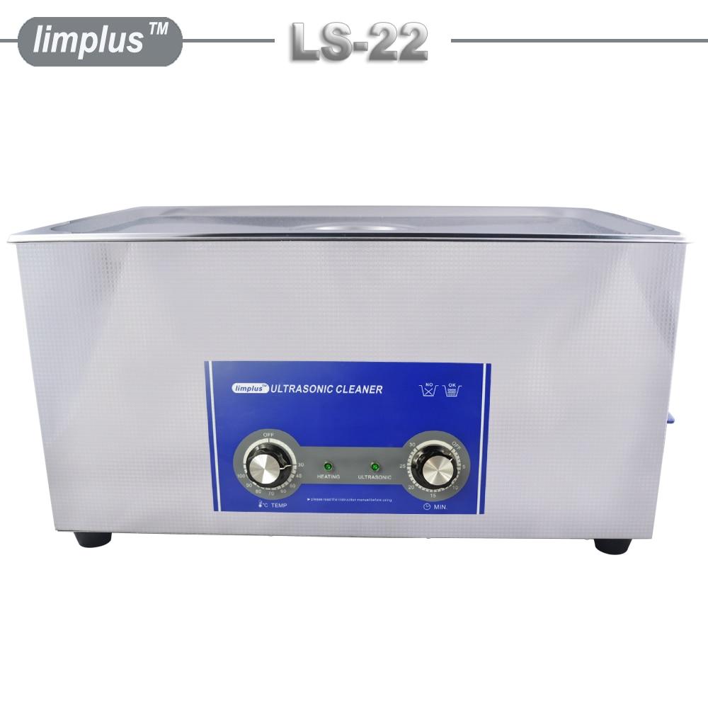 Limplus 22L Vasca da bagno in acciaio inox con pulitore ad ultrasuoni - Elettrodomestici