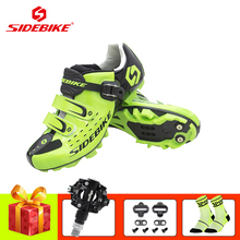 SIDEBIKE mountain bike cycling shoes sapatilha ciclismo mtb SPD pedals shoes self-locking breathable bicicleta outdoor sneakers sidebike cycling shoes road men carbon sapatilha ciclismo mtb bike shoes zapatos bicicleta sneakers self locking white 2019 new