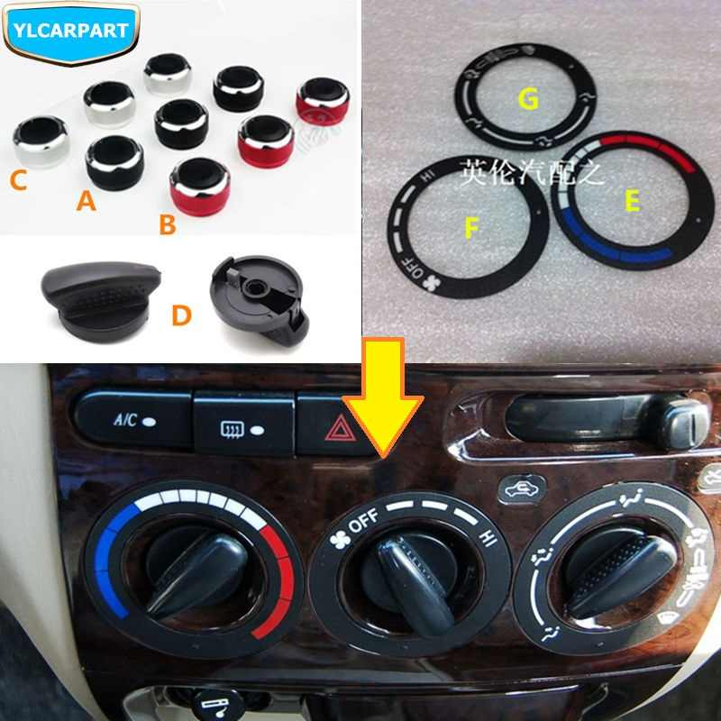 For Geely MK 1 2,MK1 MK2,Cross Hatchback,Car condition controller modified knob,3pcs