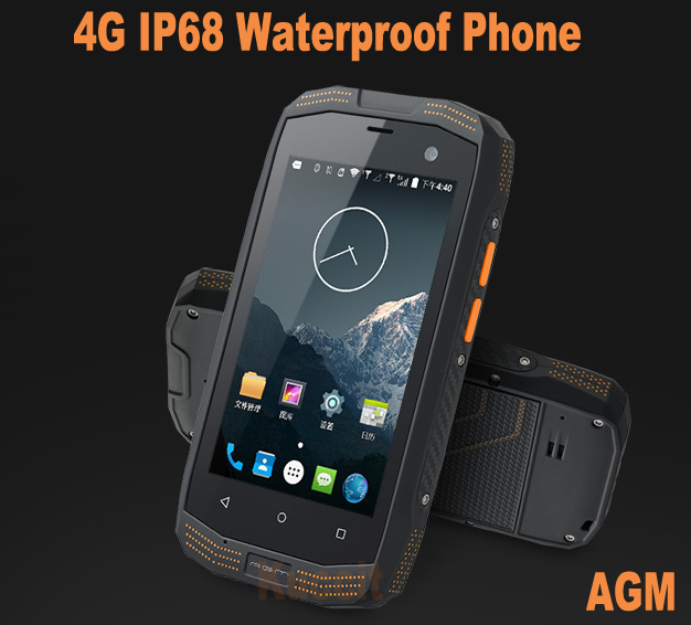 Original Agm A2 Waterproof Phone Mobile Shockproof Dustproof Qualcomm Quad Core Smartphone Android Rugged 4g Lte Gps 2gb In Phones From