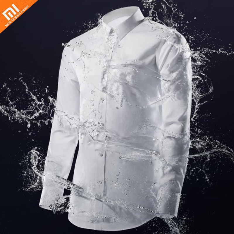 2019 New Original Xiaomi 90 Points High Quality Three Anti-scalding Cotton Shirt For Water And Oil Repellent