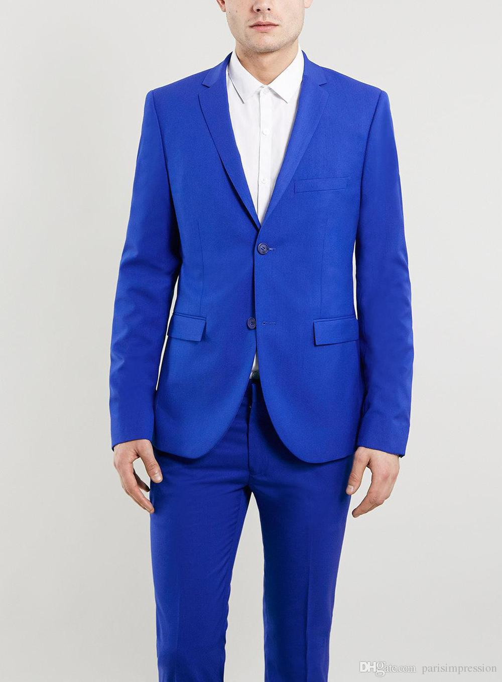 New Arrival grooms suit blue tuxedos for men wedding suits for men ...