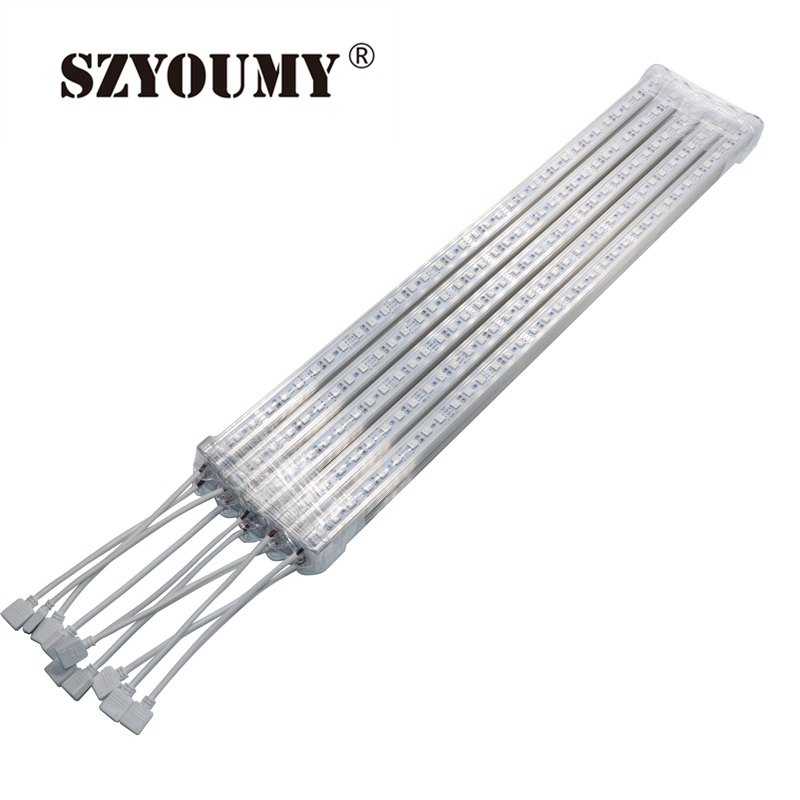 SZYOUMY U Aluminium Profile 50m 36leds LED Rigid Strip RGB