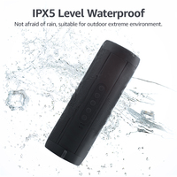 Bluetooth Speaker Wireless Bluetooth Column Waterproof Loudspeaker High Power Portable Speaker With Light For Phone Computer