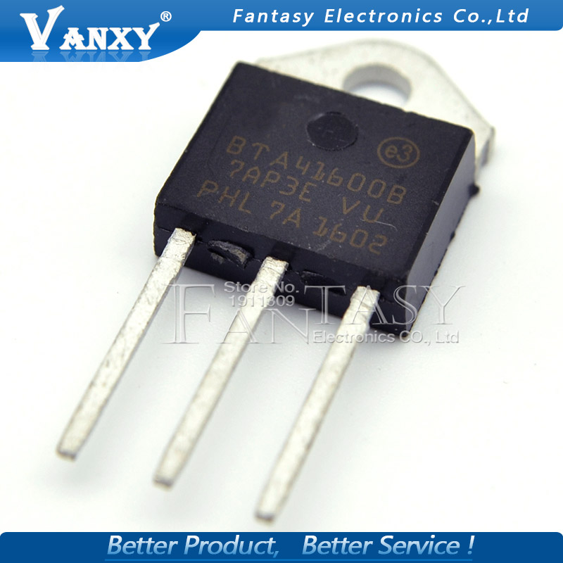 Image 2 - 5PCS BTA41 600B TO 3P BTA41 600 TO3P BTA41600B 41 600B new and  original IC-in Integrated Circuits from Electronic Components & Supplies
