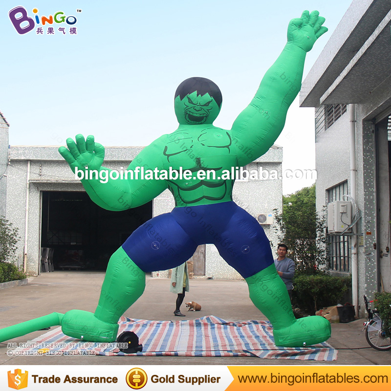 number pies de alta inflable modelo hulk hulk escalando la pared inflable para parques infantiles