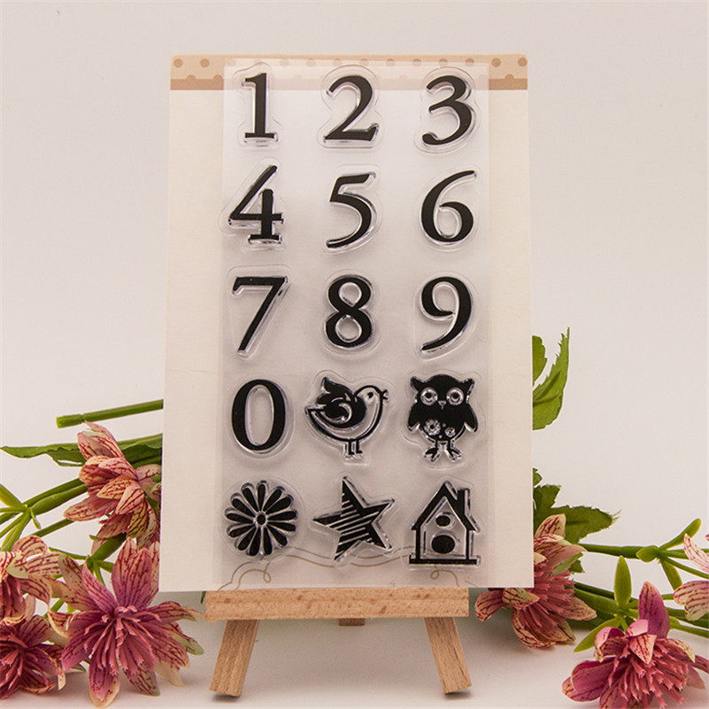 About Arabic numerals design clear stamp DIY for paper card wedding gift photo album transparent stamp RM-186 hassan general geology paper only printed in arabic