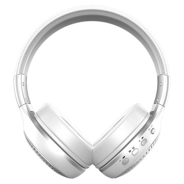 Headset LCD Display With Microphone FM Radio Micro-SD Card Slot HiFi Bass Stereo Bluetooth Headphone Wireless