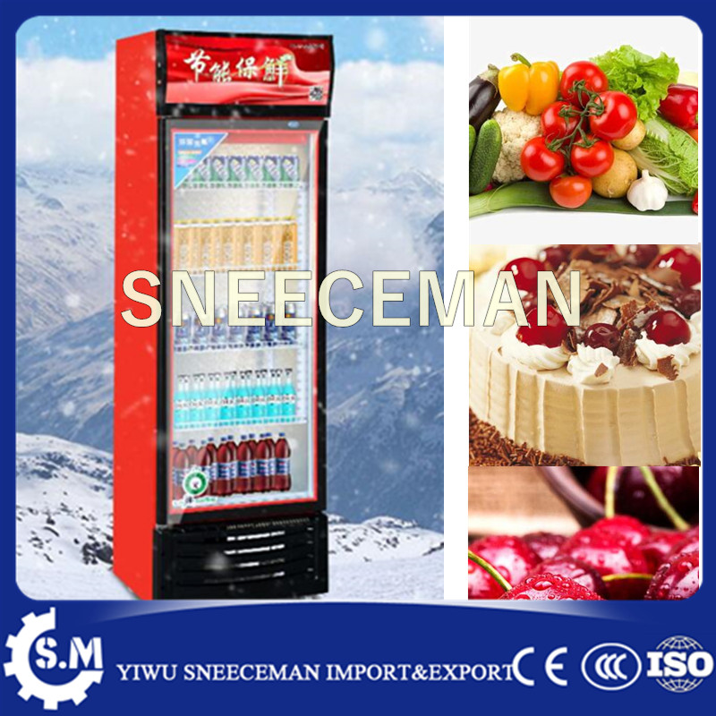 338L Refrigerated Vertical Beverage Display Cabinet