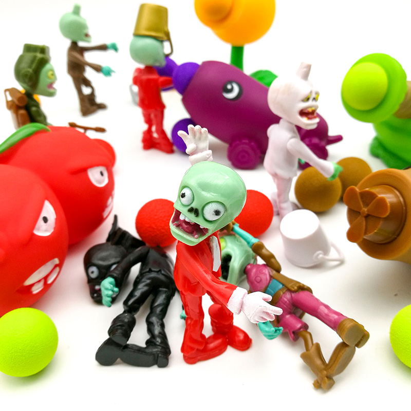 Game of Plants vs Zombies Figure Set PVC Action Figures PVZ Toys Plants Vs Zombies [yamala] 2017 pvz plants vs zombies peashooter pvc action figure model toy gifts toys for children high quality brinquedos