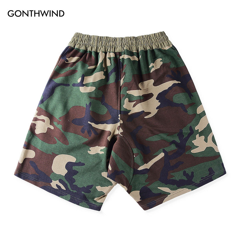 2017 Men s Fear Of God Pacsun Collection 2 Camouflage Shorts Justin Bieber  Camo Zipper Pockets Drawstring Shorts Hip Hop-in Casual Shorts from Men s  ... 7426fcaa6