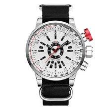 купить WEIDE Sports Watch men Military fashion Strap Alloy dial Quartz Movement waterproof fashion Clock Wristwatches Relogio Masculino по цене 969.57 рублей