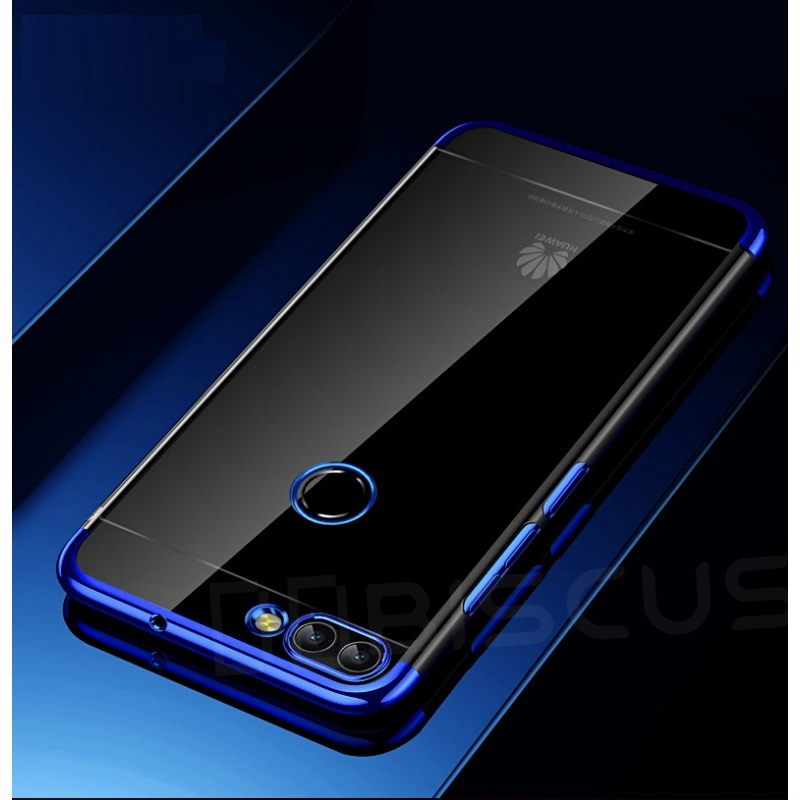 Ultra-Thin TPU Silicone Soft Huawei P Smart Psmart FIG-LX1 FIG-LX2 FIG-LX3 FIG-LA1 Shell Cover Funda
