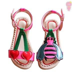 Summer girls sandals baby beac