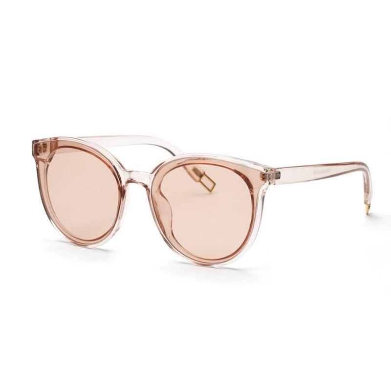 Cat Eye Rose Gold Mirror Sunglasses