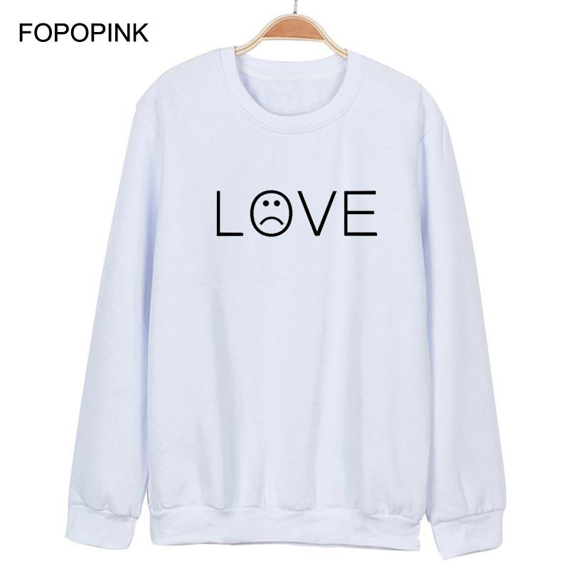 Love Lil Peep Printed Hoodies Long Sleeve Cotton Sweat Homme Oversized Sweatshirt Loose Sudadera Hombre Moletom Masculino Z40