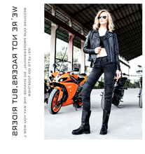 2016 Newest Cool Uglybros moto pants UBp09 stylish jeans women jeans Motorcycle pants Jeans girl jeans motor pants black