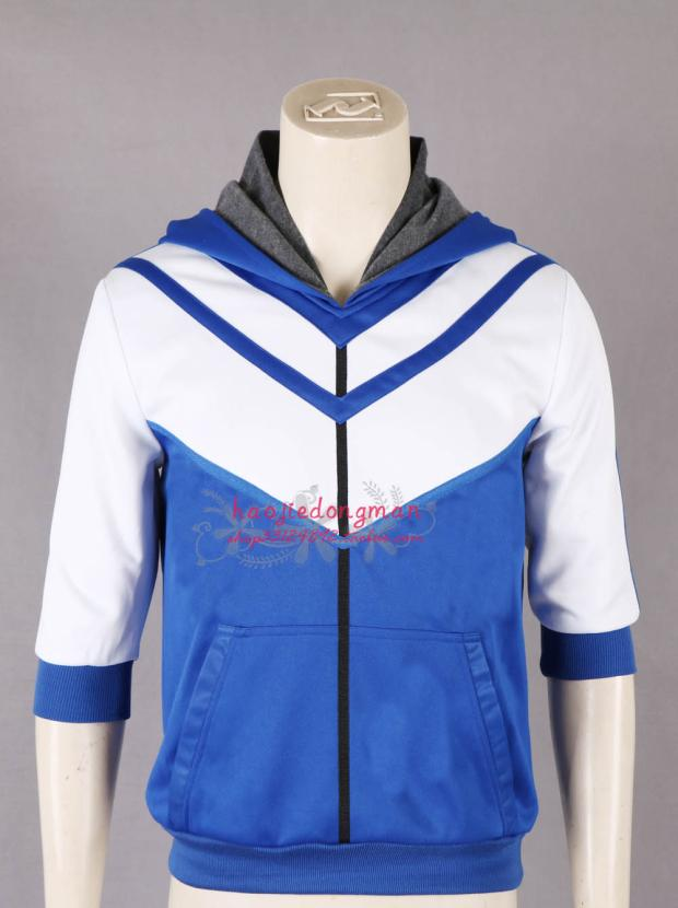 Pocket Monsters Game Pokemon Go male Trainer Avatar Cosplay Costume cosplay coat